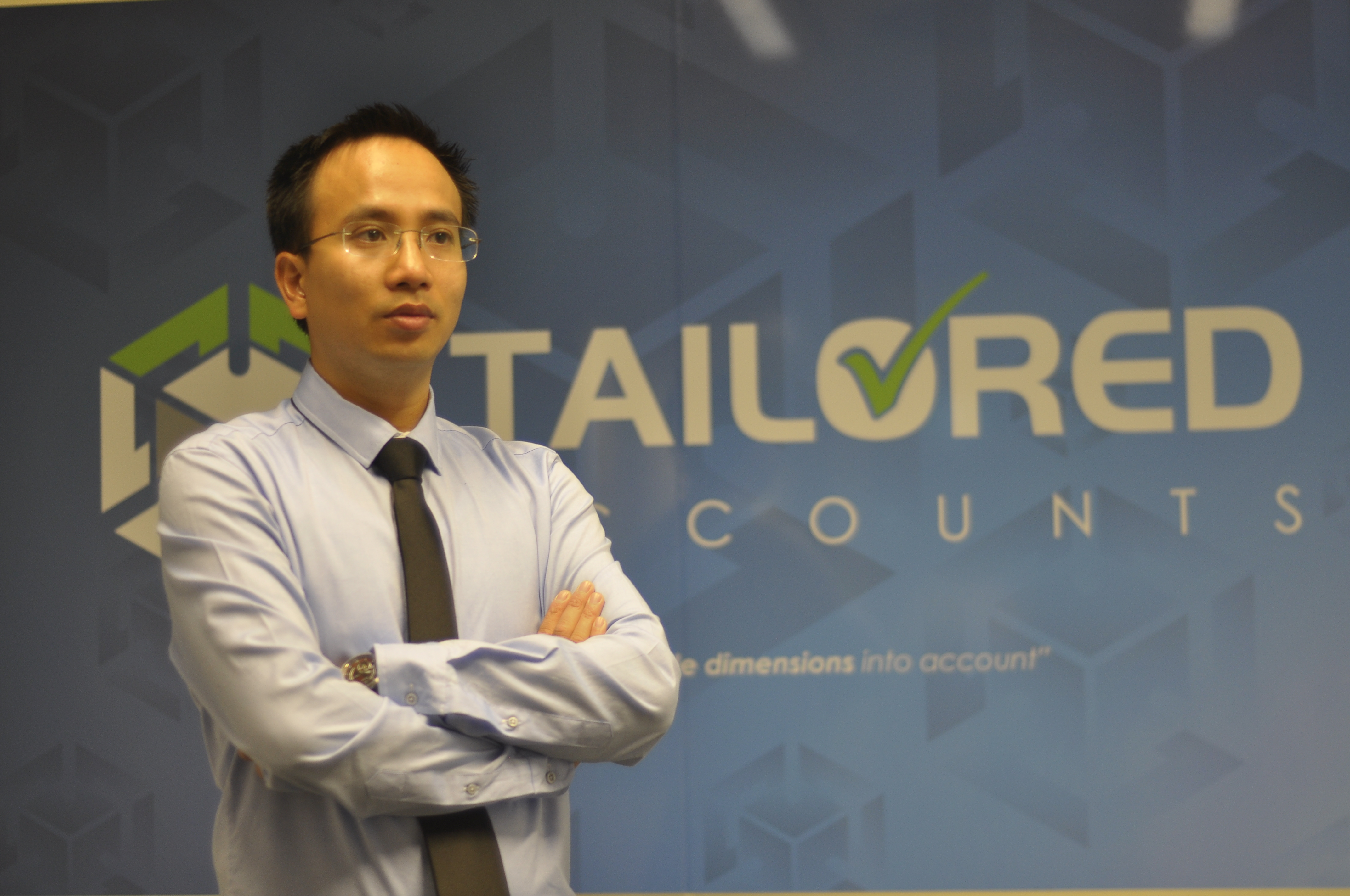 Harry Hoang of Tailored Accounts