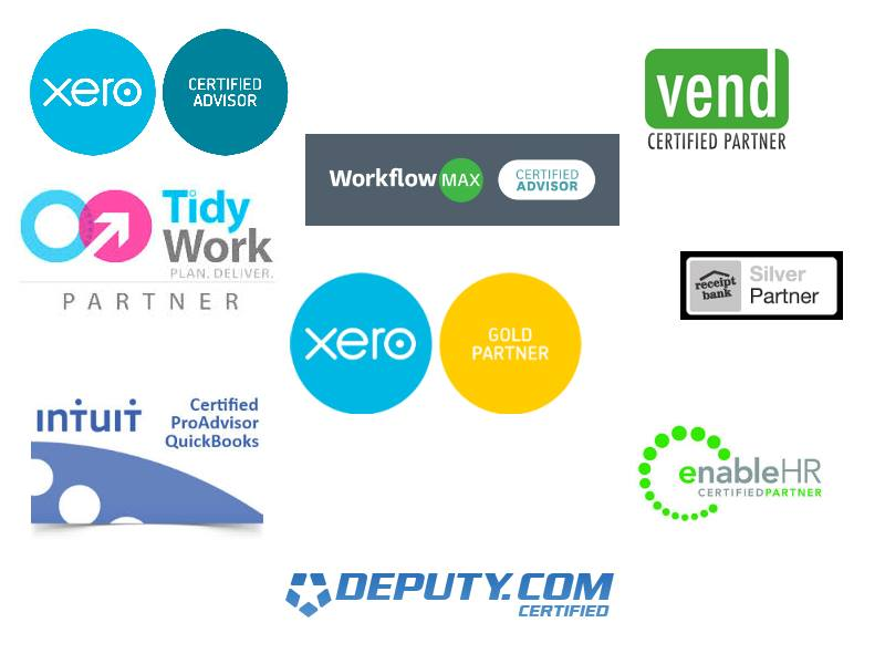 Tailored Accounts partners with various cloud accounting software providers.